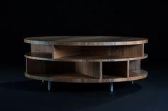 MOON by MH WORKS.  European wallnut. Design: Michal Hagara 2013