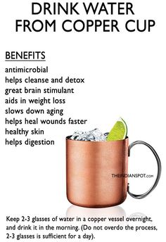 Reasons Drinking Water In Copper Vessel Is Beneficial - Read This In Marathi Hindi Drink Water From A Copper Vessel To Reap Numerous Health Benefits If You Think Hard Each One Of Us One Time Or The Other Have Been Advised To Practice This Calendula Benefits, Matcha Benefits, Health Benefits, Health Tips, Health Care, Health Practices, Health Facts, Gut Health, Copper Vessel