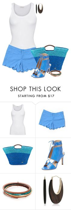 """Untitled #6704"" by lisa-holt ❤ liked on Polyvore featuring American Vintage, Lilly Pulitzer, Cappelli, Loeffler Randall, Robert Lee Morris and Kenneth Jay Lane"
