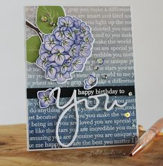 STAMPtember® at Simon Says Stamp | Happy Birthday To You Card + NEW RELEASE