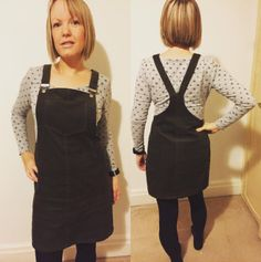 Alex's Cleo dress - sewing pattern by Tilly and the Buttons