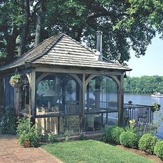 This would be nice up by the pond.