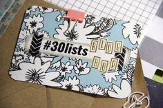 #30lists Blog Hop | Allie Scraps