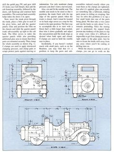 Wooden Roadster Plan - Wooden Toy Plans