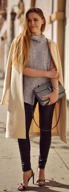 Pearls And Layers Outfit Idea by Kayture
