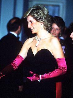 Princess Diana, 1987, Claridge's