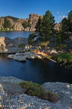 Sylvan Lake, Custer State Park, South Dakota; photo by .Raven Mountain Images