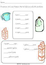 spring math measurement worksheets spring and math. Black Bedroom Furniture Sets. Home Design Ideas