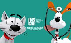 Personajes animados Hospital Veterinario Arroyo Hondo Animación y Render: Haniel Sosa http://www.youtube.com/watch?v=TRdsQOI5JgU
