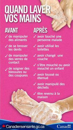 Conseils de lavage des mains : http://www.fightflu.ca/fight-combattre-fra.php?utm_source=Pinterest_HCdns&utm_medium=social&utm_content=Dec15_FightFlu_FR_&utm_campaign=social_media_13