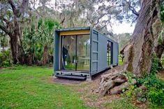 How I built my shipping container house — the haB - - If you are curious about building your own shipping container house, this might be of interest to you. This report describes how I proceeded and what I have learned. I am sure there are better ways…. Shipping Container Conversions, Shipping Container Home Builders, Shipping Container House Plans, Shipping Containers, Building A Container Home, Container Buildings, Cargo Container, Container House Design, Sea Container Homes