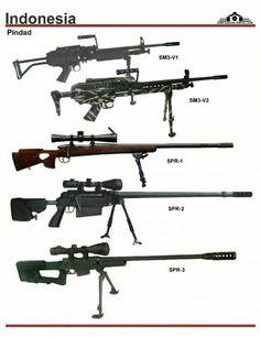 Индонезия: Pindad SM3-V1, SM3-V2, SPR-1, SPR-2,...