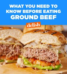 9 Things You Should Know Before Eating Ground Beef #food #lunch #dinner #forkyeah #eatthetrend #instagood #comfortfood #kids #plating #magazine
