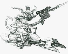 Rat Fink Style Art | Salacious B Crumb Rat Fink style by DecayingArt