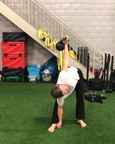 Home Body Weight Workout, Full Body Kettlebell Workout, Kettlebell Training, Gym Workout For Beginners, Workout Videos, Yoga Fitness, Fitness Tips, Youtube Workout, Pilates