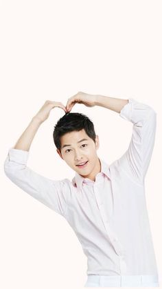 """160409 Song Joong Ki - LG Bamboo Salt Website Update"