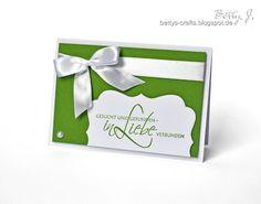 Stampin Up Stempelherz Hochzeit Hochzeitseinladung Einladung Karte