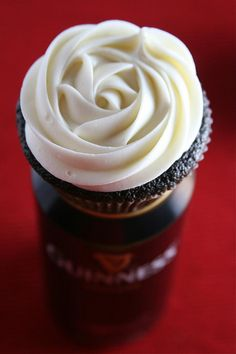 Chocolate Guinness Cupcakes -- Oh My ---
