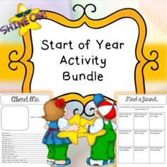 Back to School, Start of Year, First Day, New Class Bundle Activities This is a huge bundle of all different things ready to prepare you for back to school! :) The pack includes 200 page of fabulous activities! (scheduled via http://www.tailwindapp.com?utm_source=pinterest&utm_medium=twpin&utm_content=post7491080&utm_campaign=scheduler_attribution)