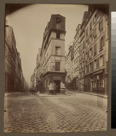 Paris 1907, Maison d'André Chenier - 97 rue de Clery (2e arr) by George Eastman House