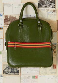 Vintage Mile Marker My Words Bag, #ModCloth