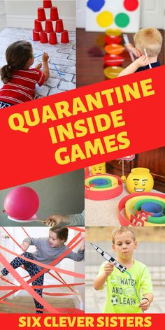 Found yourself running out of quarantine activities for the kids? These indoor games for kids are some great indoor activities for some family fun! games for kids Indoor Games For Teenagers, Home Games For Kids, Games To Play With Kids, Family Fun Games, Fun Games For Kids, Games To Play Indoors, Kid Games Indoor, Kids Indoor Play, Super Fun Games