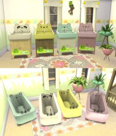 Leander Belgraves - Animal Abound Set a Sims 3 to Sims 4 Conversion...