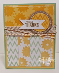 Tinkerin In Ink with Tanya: Stampin' Addicts Hidden Treasures Hop: Eye-Catching Ikat