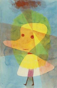 'Kleiner Gartengeist' Paul Klee - (1929)