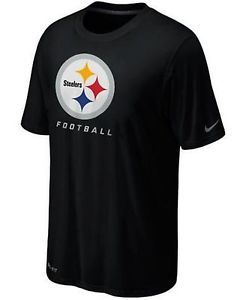 NIKE LEGEND ELITE LOGO NFL STEELERS MEN S SHIRT WAS  30  pittsburgh  philly   hall 4d55a0b5b