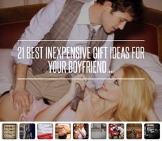 21 Best #Inexpensive Gift Ideas for Your Boyfriend ... → #Lifestyle #Ideas