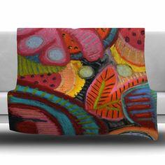 Tropic Delight Fleece Throw Blanket