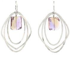 Judith Bright Jewelry - SS Sarah Earrings, $128.00 (http://www.judithbright.com/ss-lots-o-rocks-sarah-earrings/)