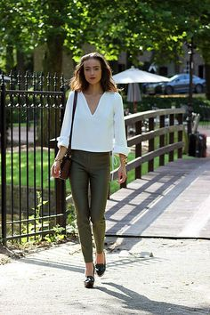 More looks by Anne-Miek .: http://lb.nu/modedamour  #casual #chic #minimal