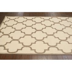 nuLOOM Velu Cream Milagros Rug & Reviews | Wayfair