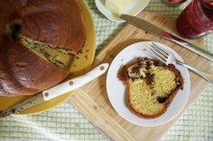 The Food Blogger Cookbook Swap 2014 // Chocolate Cookie Butter Babka | Shikha la mode