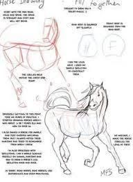 Drawing Animals Tutorial Pencil Art Lessons Ideas For 2019 Horse Drawings, Animal Drawings, Drawing Animals, How To Draw Animals, How To Draw Horses, Animal Sketches, Drawing Sketches, Sketching, Drawing Tips