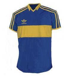 camiseta Boca Jrs. 1980
