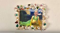 Mermaid Seashell Frame !!!  Look at this mermaid cutie