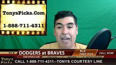 LA Dodgers vs. Atlanta Braves Pick Prediction MLB Baseball Odds Preview ...