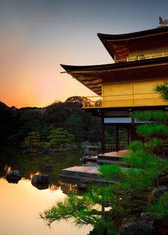 Japanese architecture - kinkaku-ji temple, Kyoto 1397