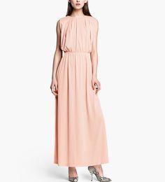 pale pink maxi dress   dresses-light-pink-sleeveless-back-deep-v-neck-sexy-maxi-dress-006696 ...