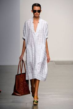 Especially into the bag and shoes! Rachel Comey Spring 2013 RTW Collection - Fashion on TheCut.