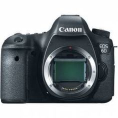 $1274.95 Canon EOS 6D Digital Camera (Body Only)