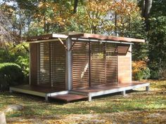 Small house designs can be used as garden houses, guest houses or art studios