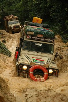 Best Land Rover Models : Illustration Description Red Cross Rovers in Action -Read More –
