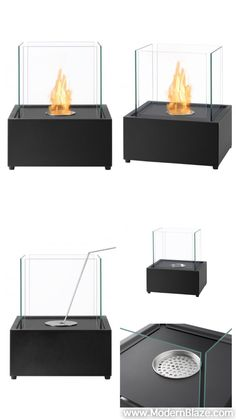 Take the heat with you whoever you want it with this beautiful Tab Tabletop Ventless Ethanol Fireplace that is just as functional as it is beautiful. Outdoor Table Tops, Outdoor Wicker Patio Furniture, Patio Furniture Covers, Tabletop Fireplaces, Ethanol Fireplace, Modern Fireplace, Portable Fireplace, Fire Pit Bbq, Make A Table