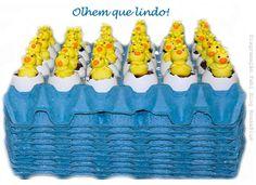 caixa de ovos decorada