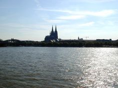 #Cologne and the river Rhein