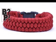 "Make the ""Slim Trilobite"" Paracord Bracelet - The EASY Way - BoredParacord.com - YouTube"
